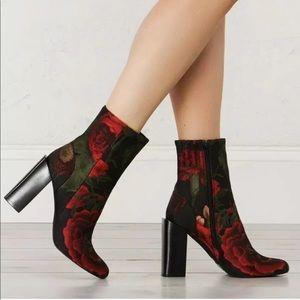 Jeffrey Campbell Stratford Floral Brocade Boot